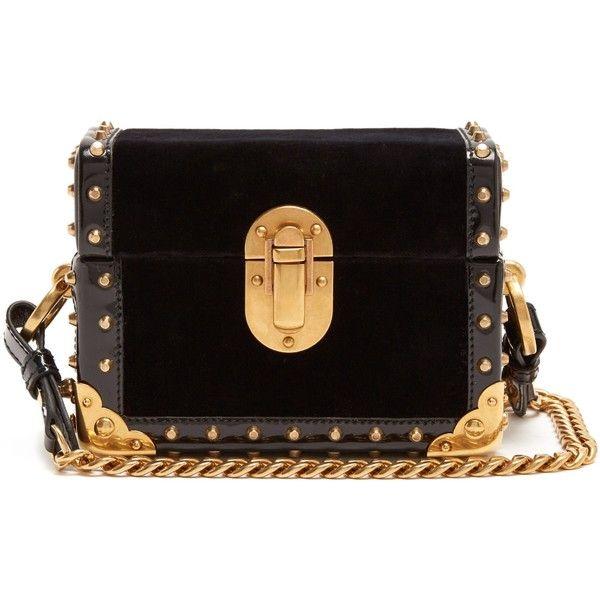 4c76ed87f3 Prada Treasure Trunk mini velvet box bag ( 2