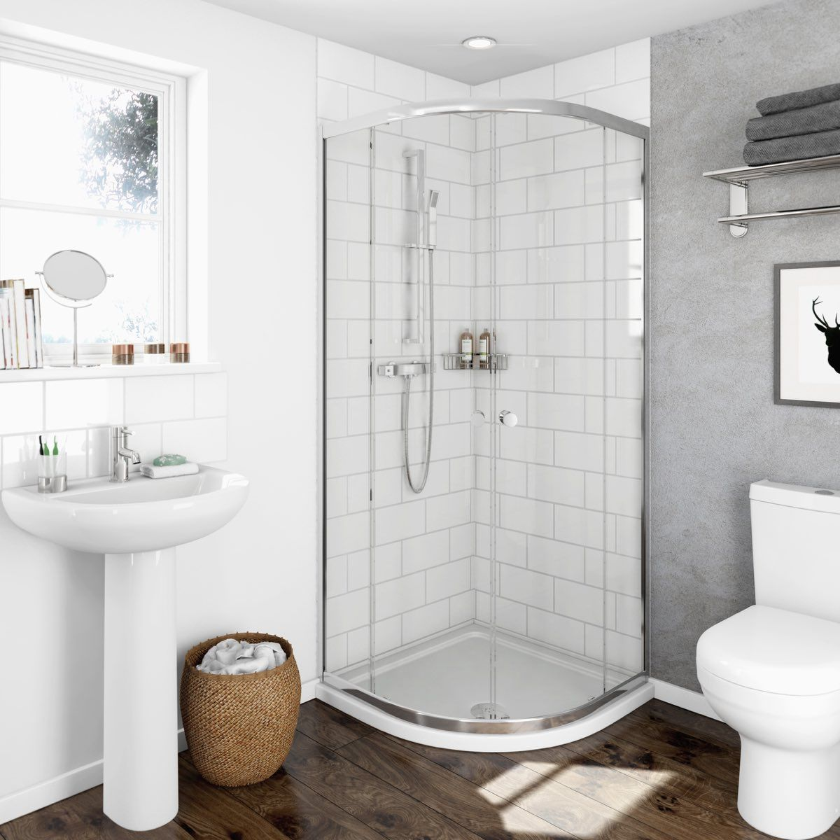 QUE4802.jpg (1200×1200) | Bathroom interiors | Pinterest | Quadrant ...