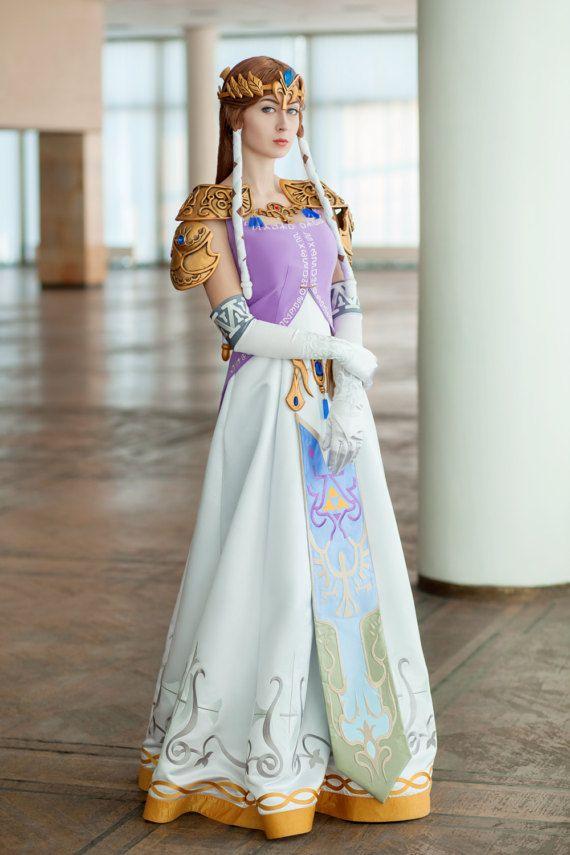 Princess Zelda Cosplay Costume from the Legend of Zelda, Halloween ...
