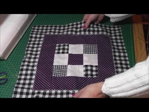 patchwork kissenbezug kissenh lle mit rei verschluss selber n hen z polskimi opisami. Black Bedroom Furniture Sets. Home Design Ideas