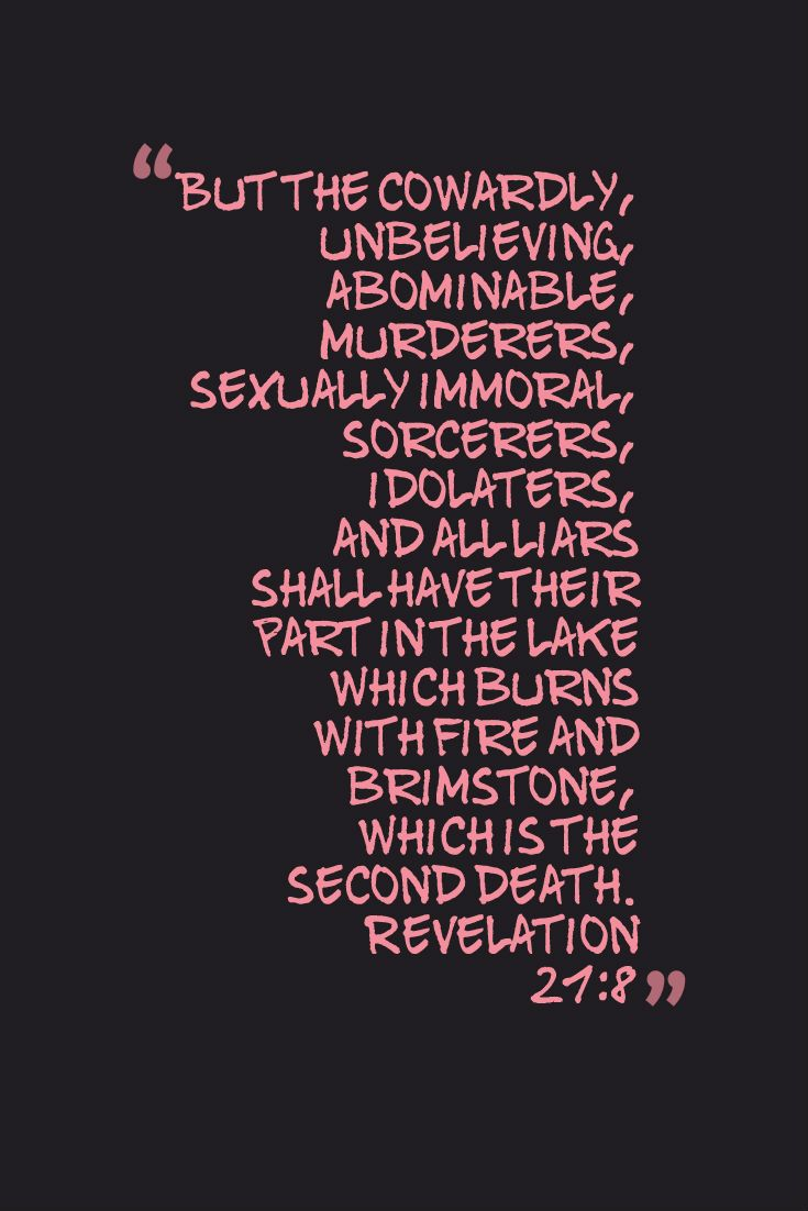 Sexually immoral in the time of revelation