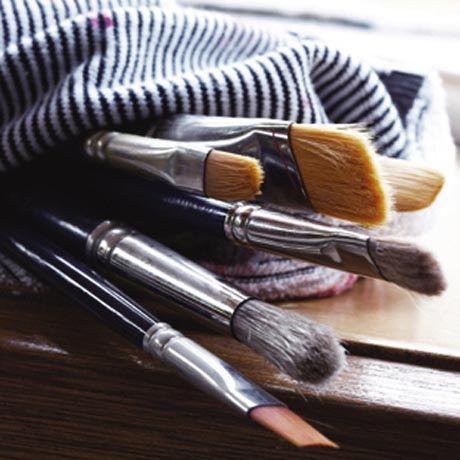 Nettoyer et entretenir son matériel pour peindre à l'huile ...