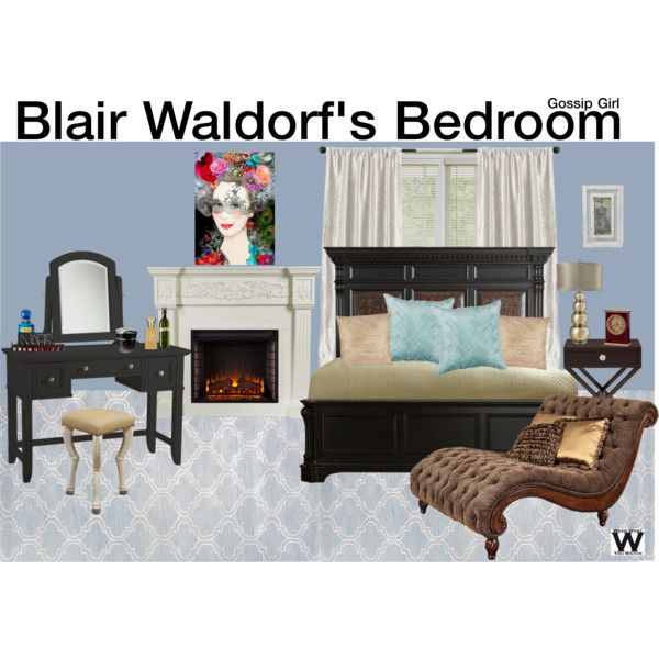 High Quality Inspired By Blair Waldorfu0027s Bedroom On Gossip Girl. Great Ideas