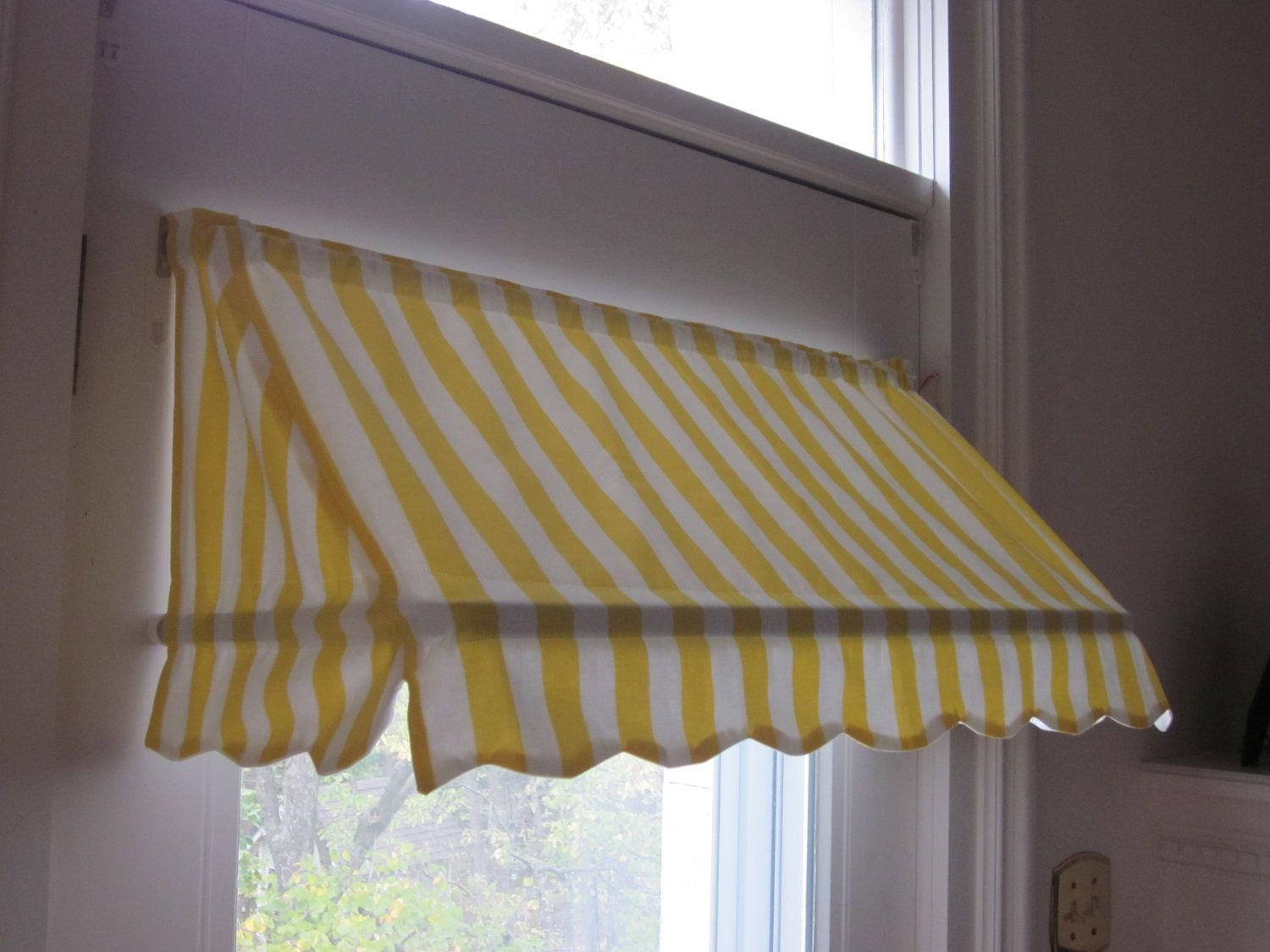 Ready Made Indoor Awning Curtain 31 1 2 Wide 79 00