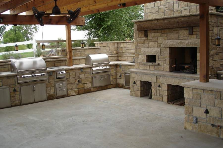 Stone Age Manufacturing Outdoor Kitchen With Pizza Oven Must Have Home Like Art Pinterest