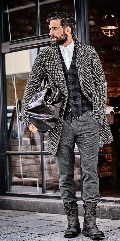 CLOCHARD-MANTEL 2.0 #stylishmen