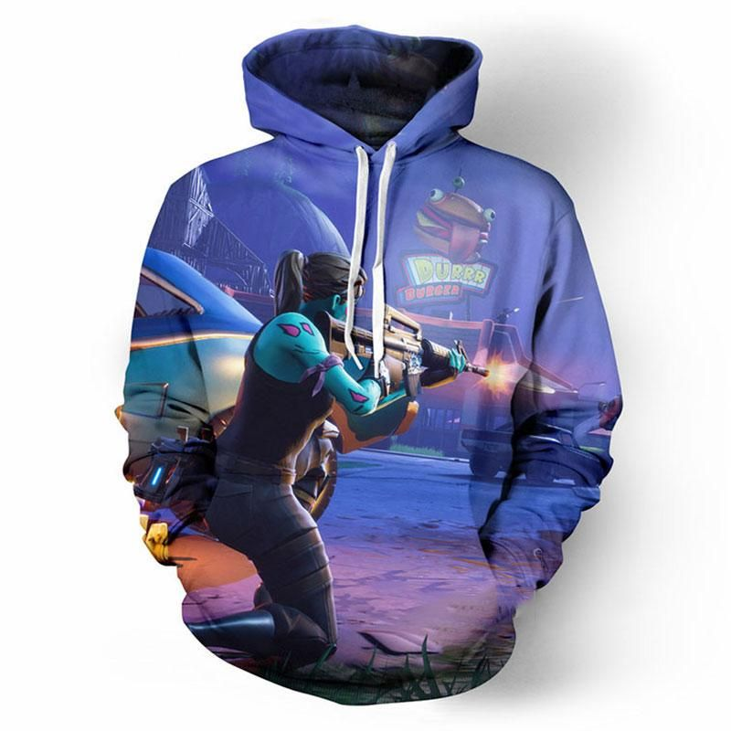 b4672ad09f25 Fortnite Hoodies - PVE Ghoul Trooper 3D Hoodie