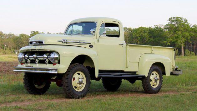 Marmon Herrington 4x4 1952 Ford F3 Trucks Vintage Trucks Ford
