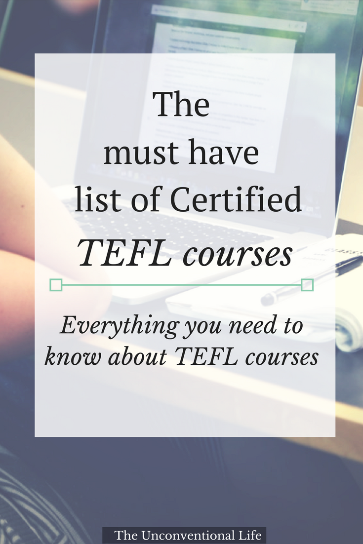 Decide To Teach English Abroad Step 3 Get Tefltesol Certified
