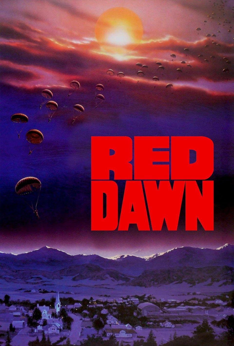 red dawn 1984 movie script