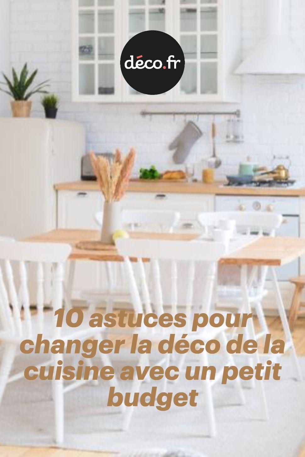 Pas Besoin De Changer Tous Les Meubles Pour Relooker La Cuisine On A Trouve Une Serie D Astuce A Petit Budget Qui Chan Deco Mobilier De Salon Relooker Cuisine
