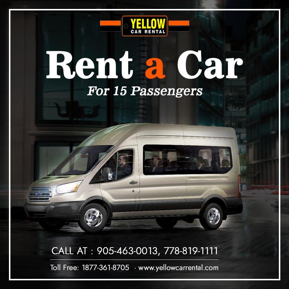 Hi, Guys! Rent a Van for 15 Passengers in Toronto/Brampton