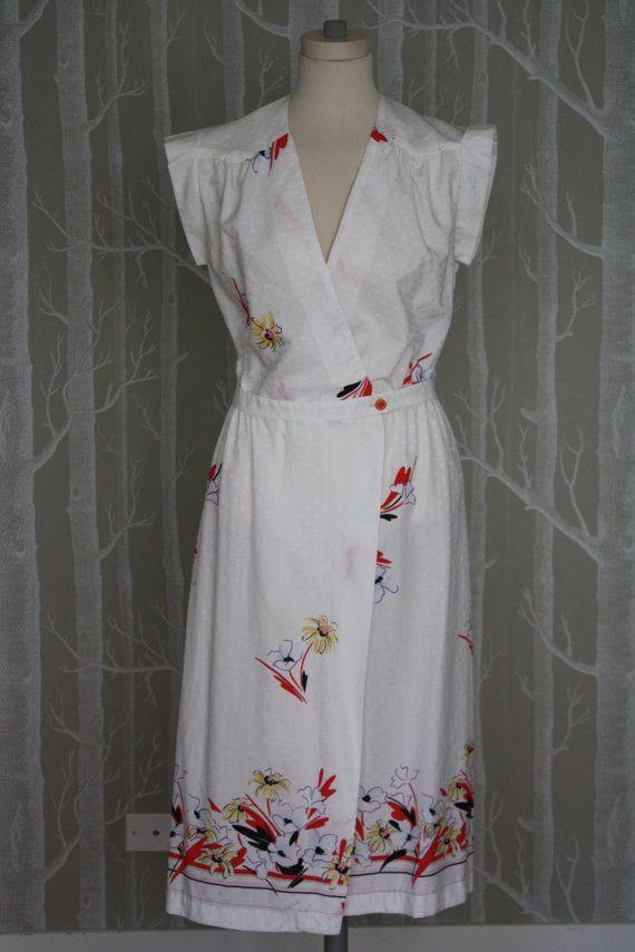 70s wrap dress, from my friend Jenny Van Veen's shop.