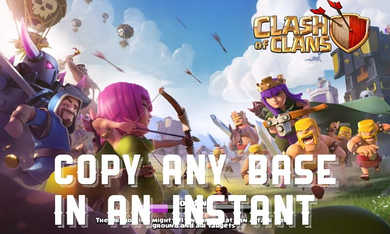 Copy any base in just one click    | Clash of Clans | Clash