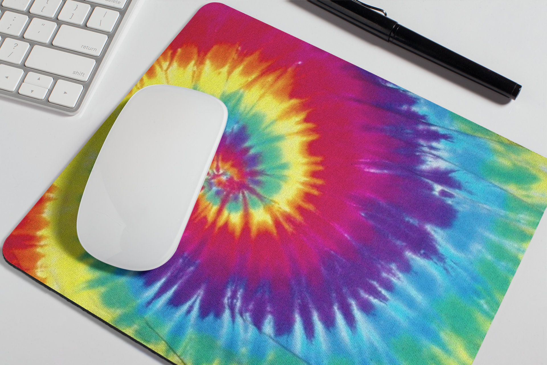 Cute Mousepad Pop Art Banana Mouse Pad Office Decor for Women Desk Accessories Gift