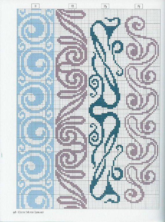 Just Cross Stitch Patterns | Learn craft is facilisimo.com     (Can use this in beading too)