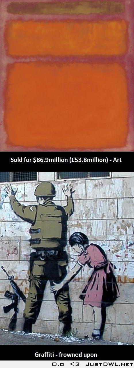 Art vs. graffiti