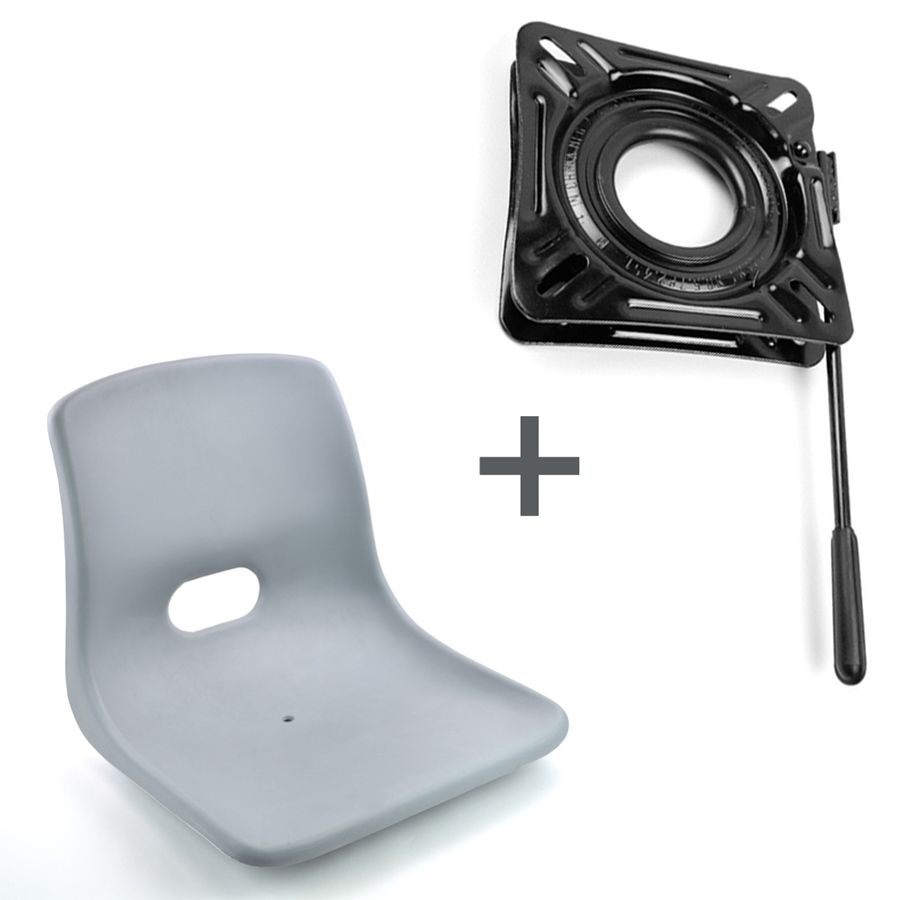 Sitzkonsole, Drehkonsole & Sitzschienen mit / ohne Arretierung, 360° drehbar, Gleitlager bei www.wellenshop.de!