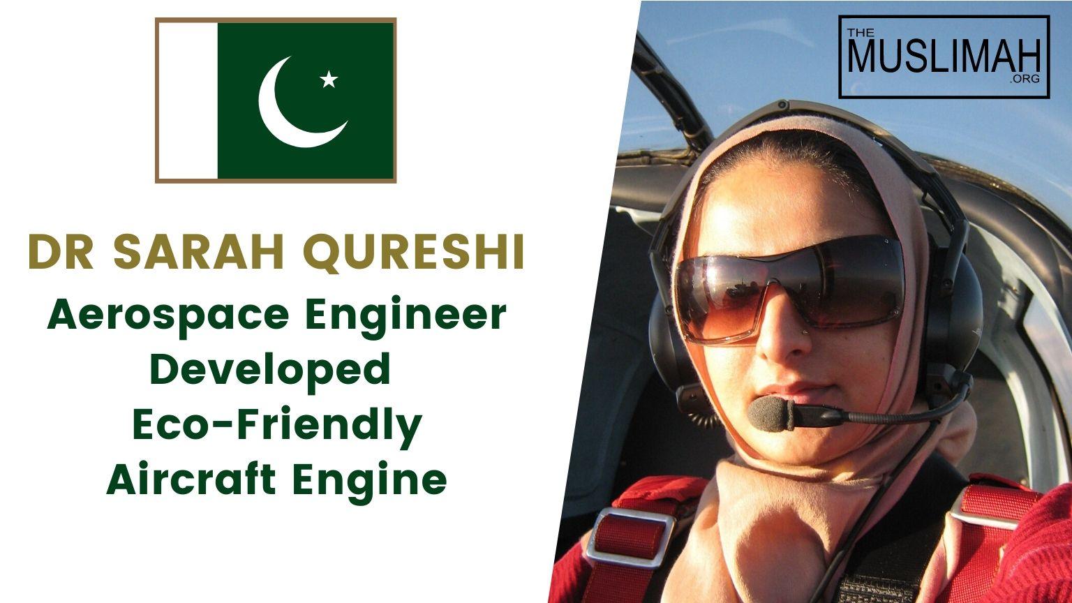 Dr Sarah Qureshi 🇵🇰 Pakistani Aerospace Engineer Aims To Make Air Travel Sustainable