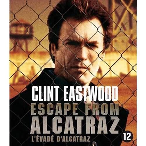 Escape From Alcatraz Blu Ray Clint Eastwood Film En Gevangenis