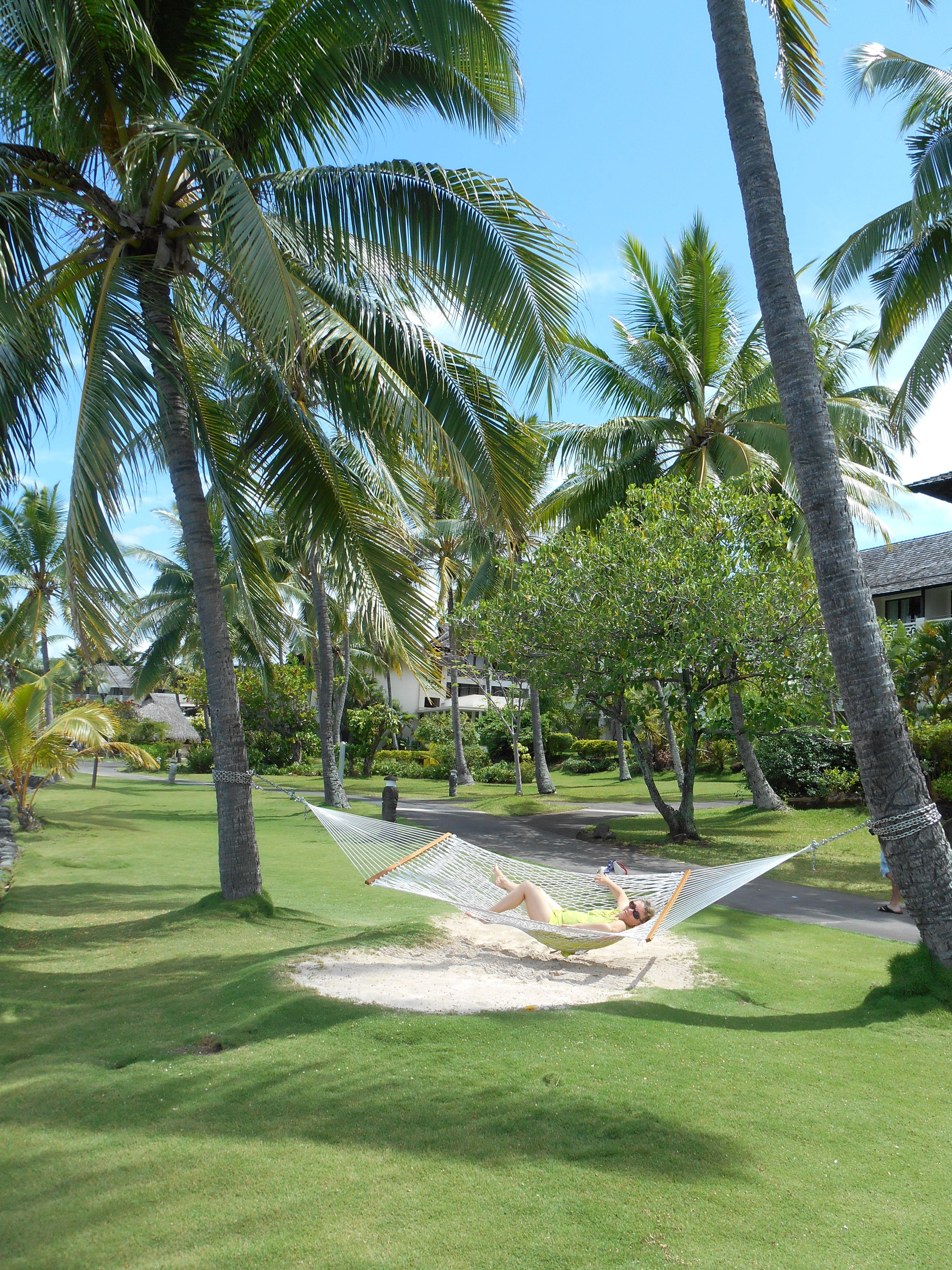 Sieste sous les cocotiers