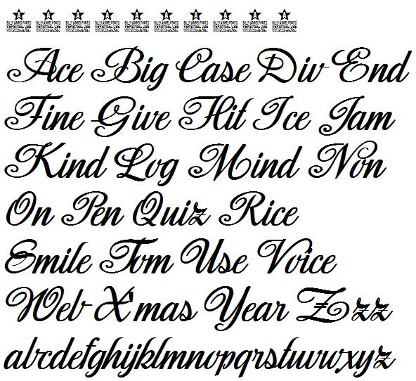 筆記体フォント11種 Fontspaceで無料ダウンロード 白雪姫 シンデレラ アラジンもオススメ ビバ りずむ 筆記体 筆記体 フォント フォント