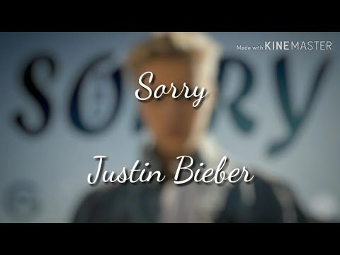 Justin Bieber Sorry With Lyrics Youtube Sorry Lyrics Pop