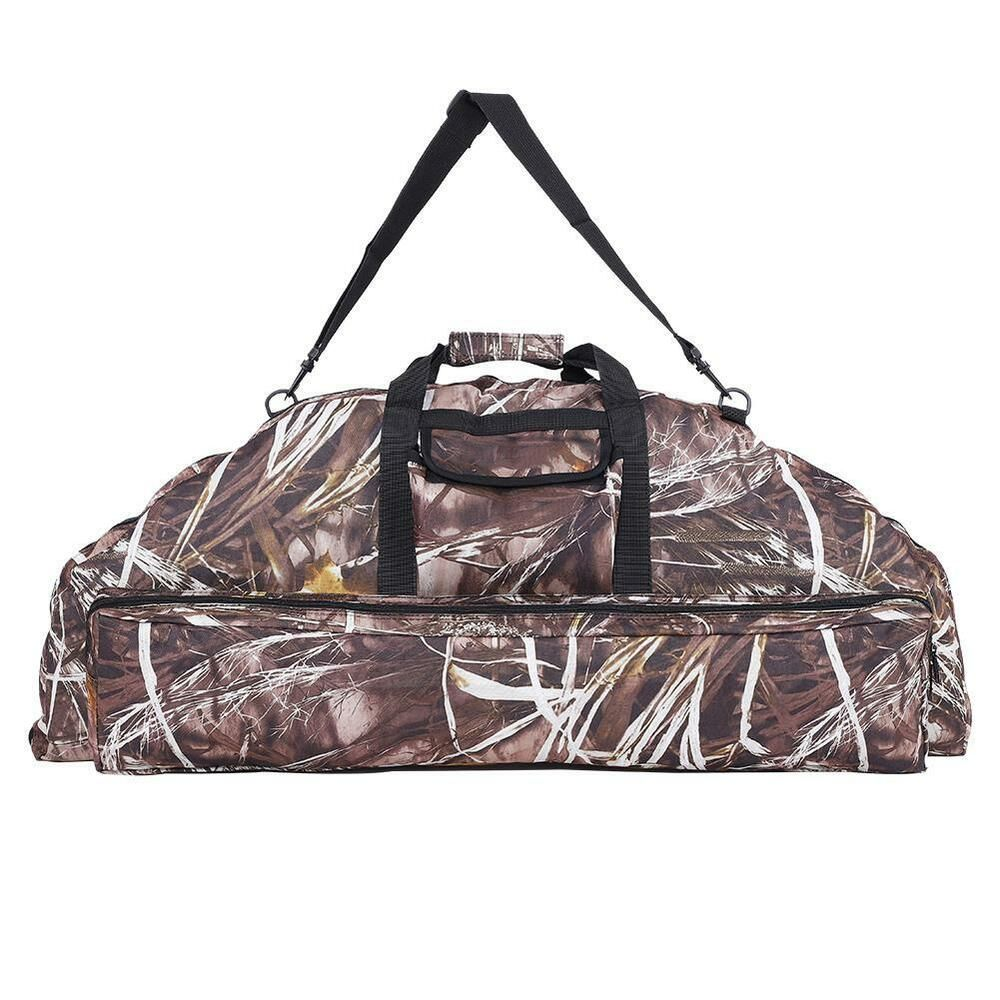 Oxford Camo Arrow Bow Backpack Bag Compound Bow Crossbow Case Holder Hunting new