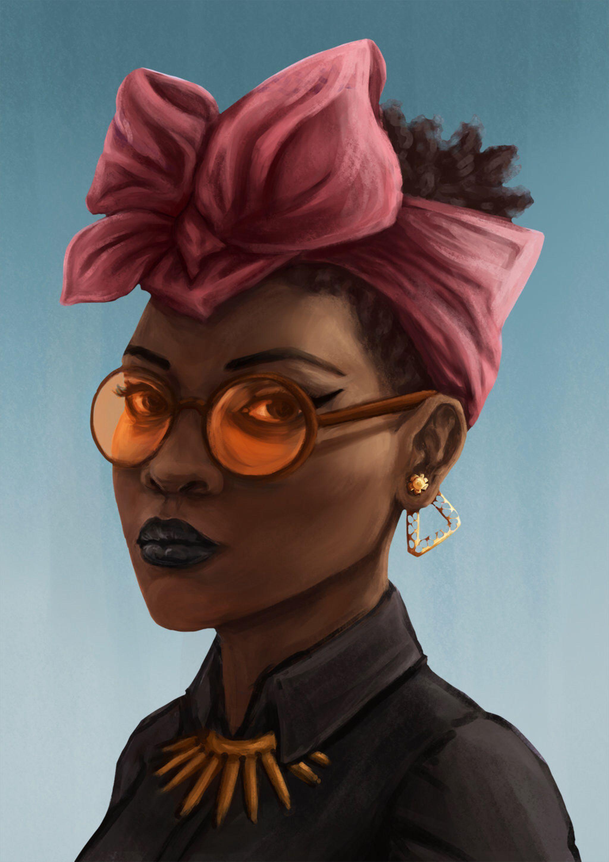 Remastered portrait by SaiTeadvuse on @DeviantArt | Black
