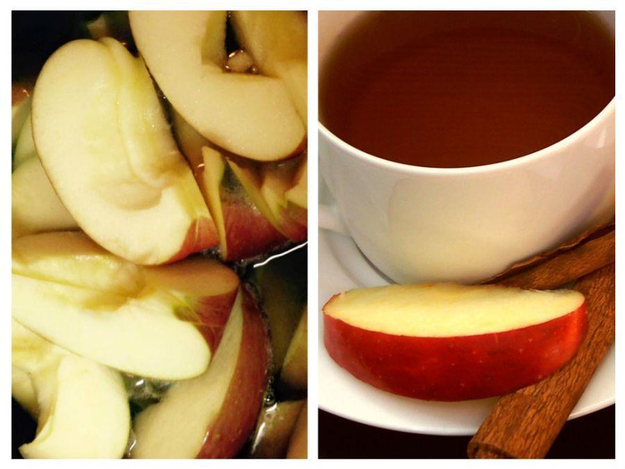 bautura de slabit cu mere si scortisoara