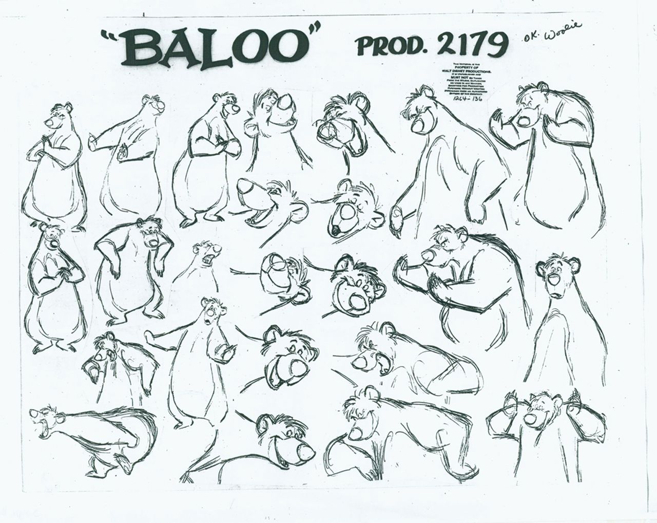 Disney Character Design Study : Afbeeldingsresultaat voor the jungle book character sheets