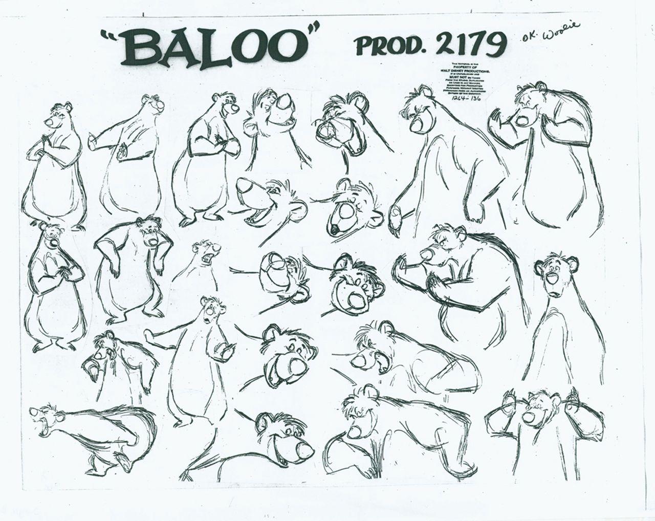 Disney Character Design Book : Afbeeldingsresultaat voor the jungle book character sheets