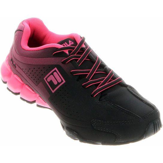 Tênis Fila Grand Feminino - Preto+Pink  ed0ecce9e12f0