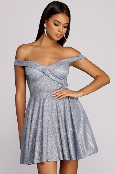 b8ceba37cef Gloria Glitter Mini Dress | Products