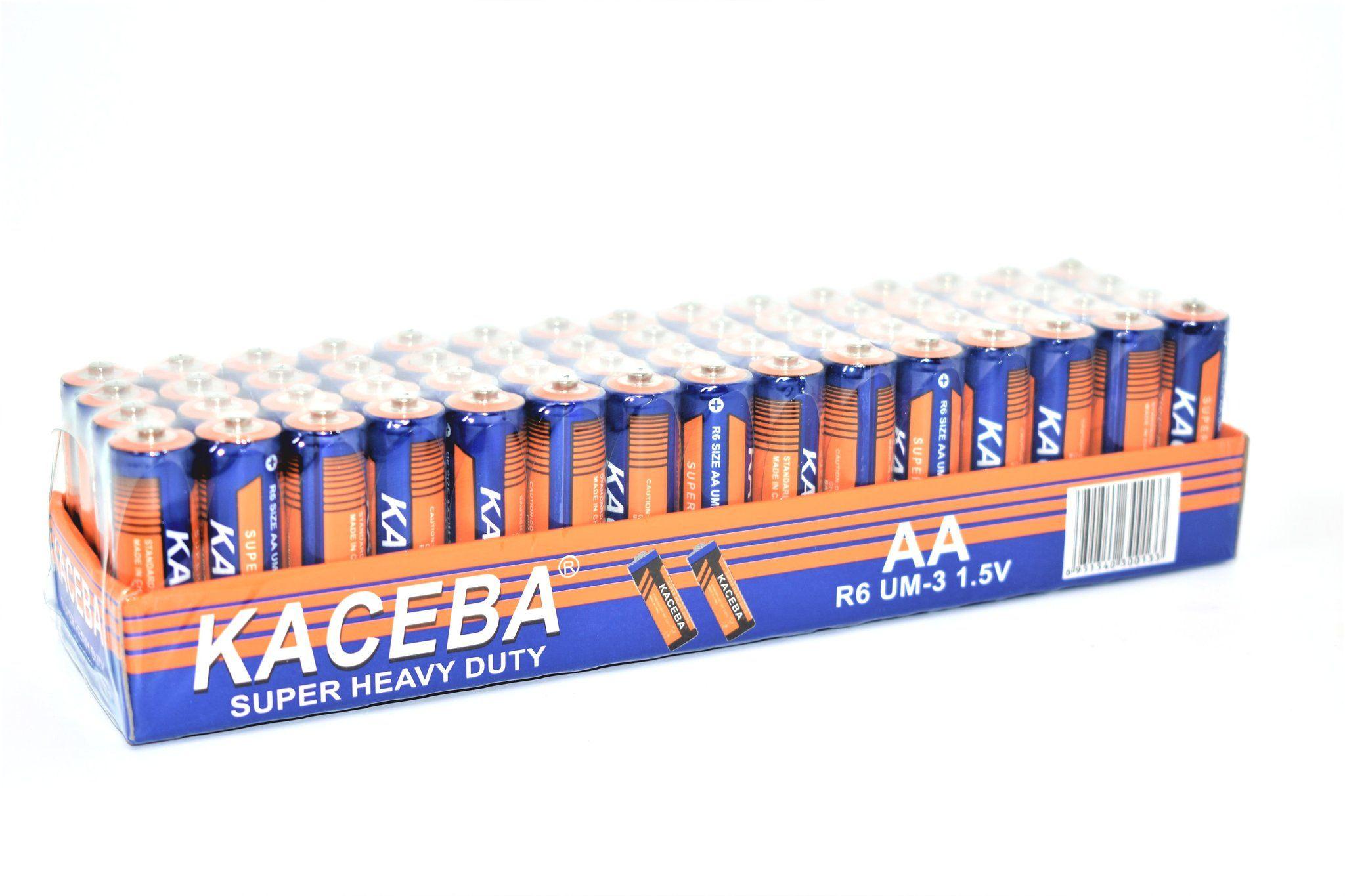 Kaceba Super Heavy Duty Aa Batteries 60 Pack Marketcol Heavy Duty Heavy Super