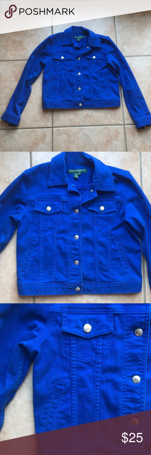 Euc Ralph Lauren Royal Blue Jean Jacket Like New Condition Denim Jacket From Ralph Lauren Royal Blue Color Siz Royal Blue Jeans Blue Jean Jacket Blue Jeans [ 1740 x 580 Pixel ]
