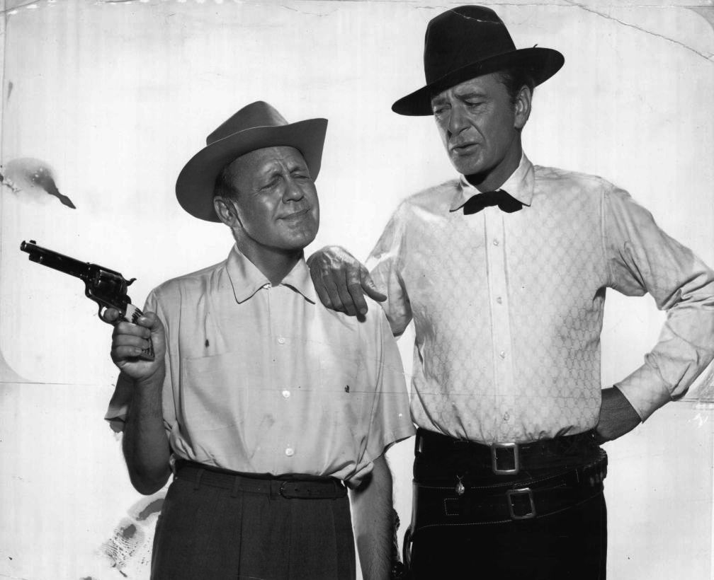 Jack Benny and Gary Cooper for The Jack Benny show! I really want to see this one!