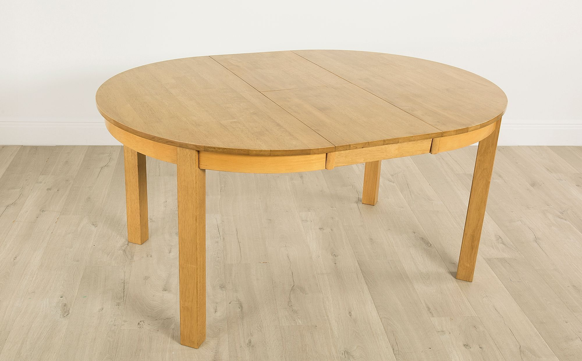 Marlborough Round Oak Extending Dining Table 120 160cm Oak