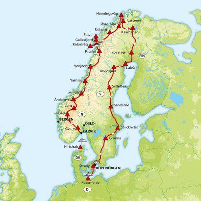 Nordkap & Lofoten | ACSI Campingreisen | Gemeinsam mehr erleben!