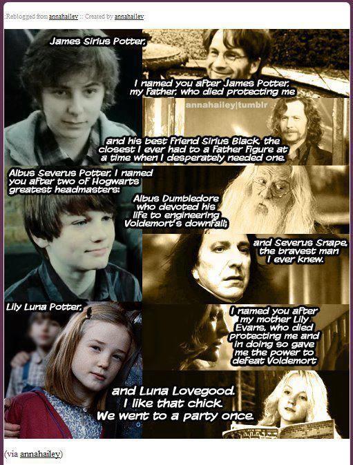 Luna Love James Sirius Potter Harry Potter Obsession Albus Severus Potter