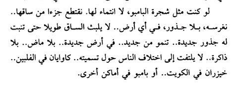 ساق البامبو Arabic Quotes Feelings Quotes Quotes