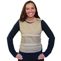 Polar Cool58 Phase Change Poncho Cooling Vest With Cool58 Phase