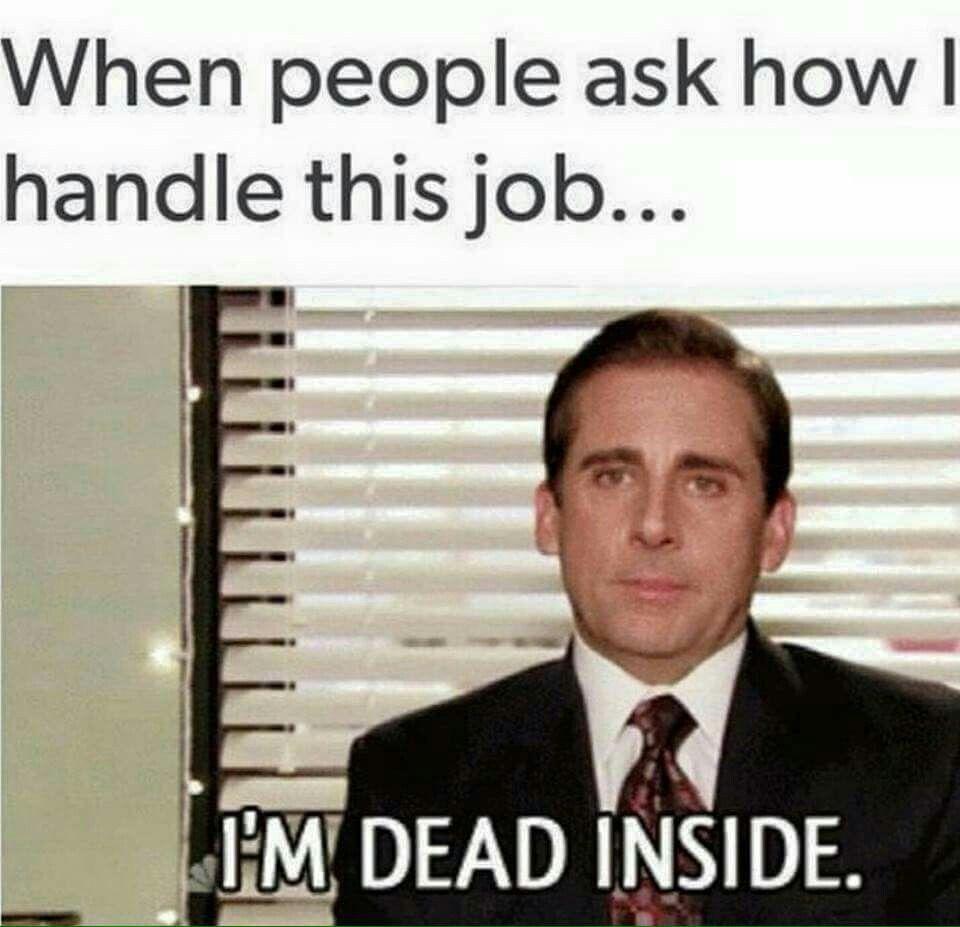 Pin By Jennifer Z On Csi Job Humor Work Humor Job Memes