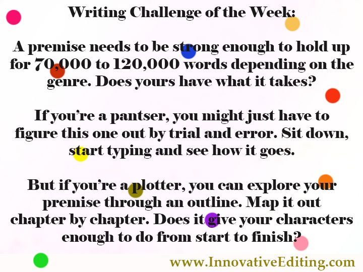 Creative Writing Challenge: Here's a way to test out your
