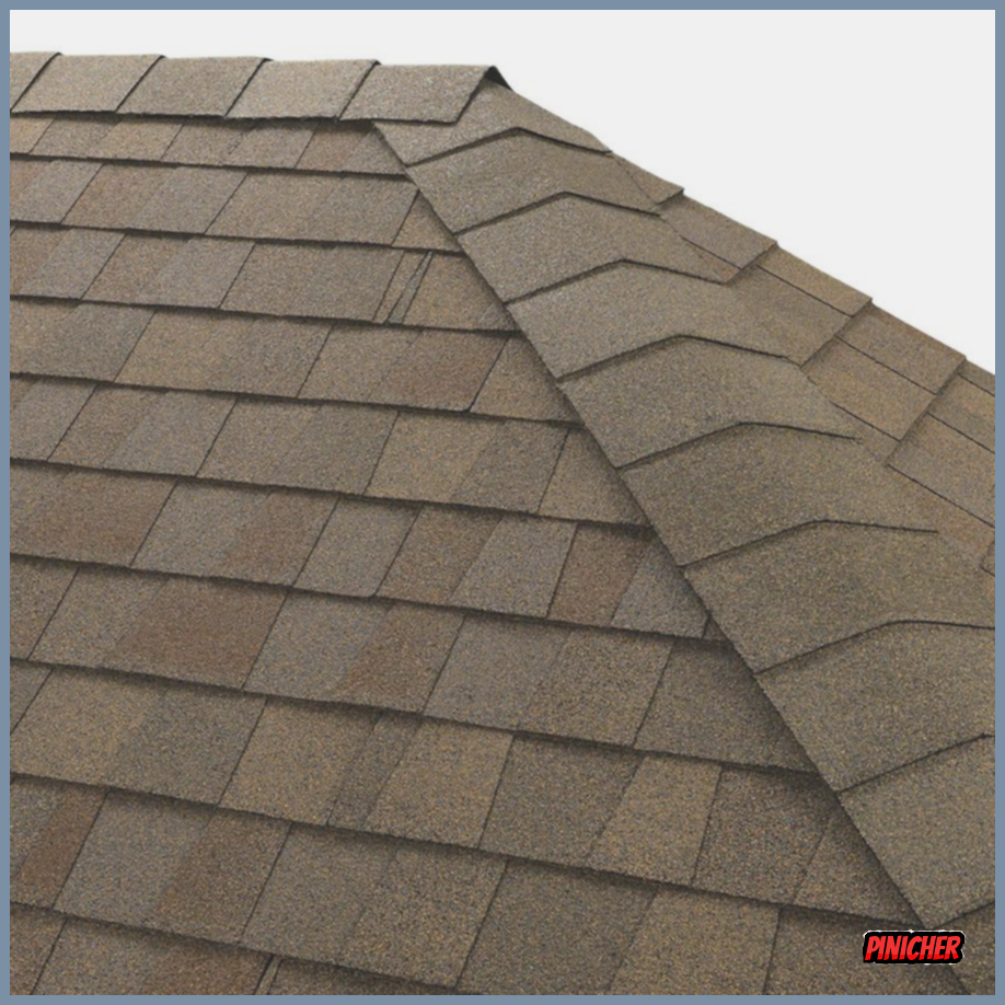 Gaf Seal A Ridge 25 Lin Ft Amber Wheat Laminated Hip And Ridge Roof Shingles In Brown 0850068 In 2020 Roof Shingles Shingling Architectural Shingles
