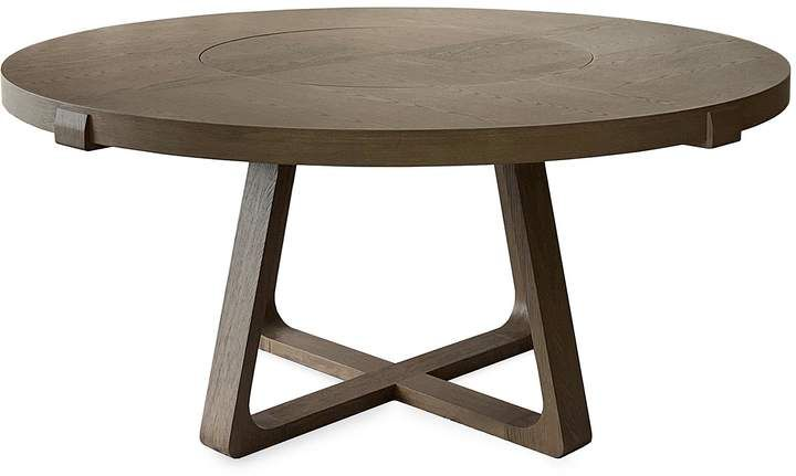 Andre Fu Living Lazy Susan Oak Round Dining Table Women Lane