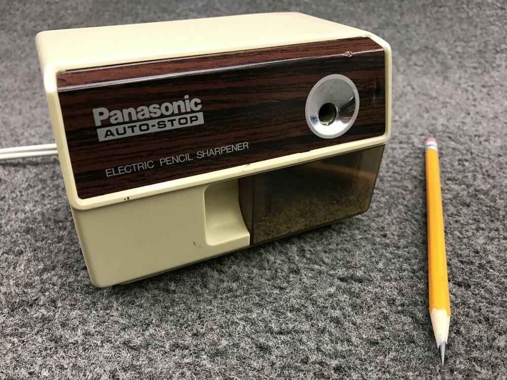 Details about vintage panasonic auto stop electric pencil
