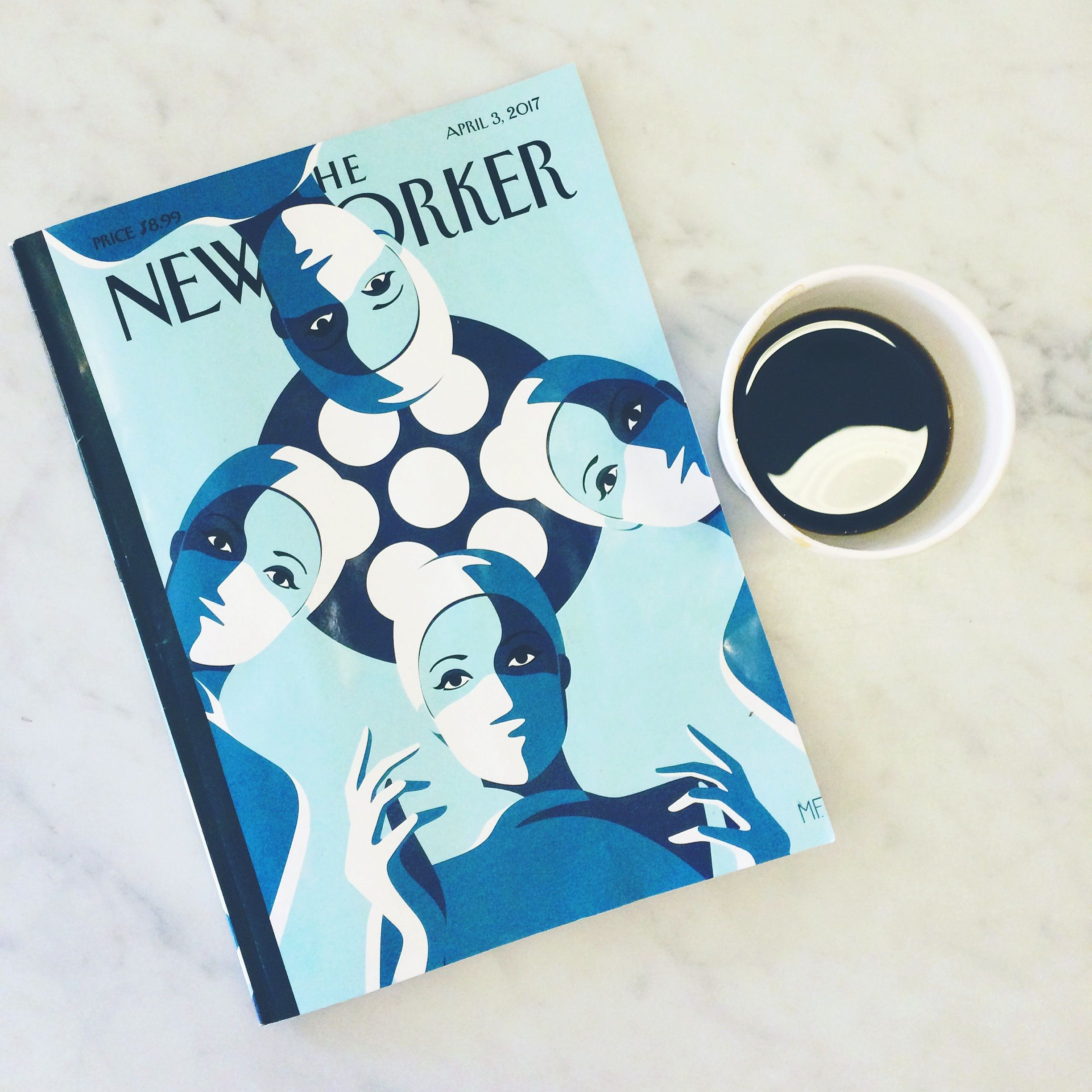 Coffee and New Yorker