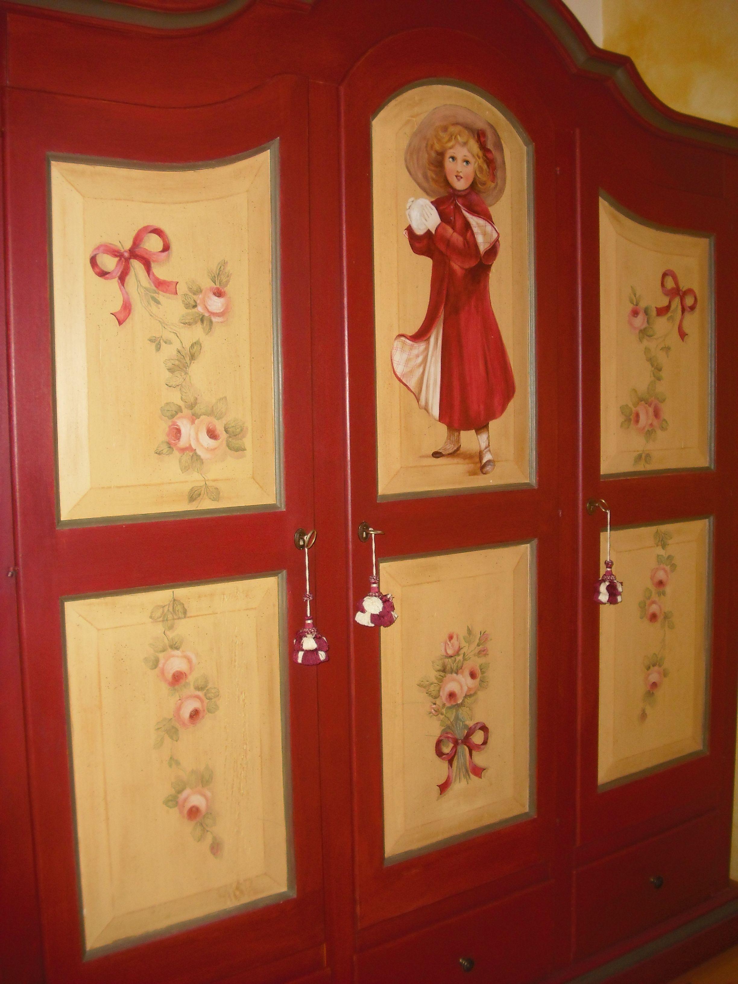 Armadio per casa di montagna decorazioni pinterest - Casa di montagna ...