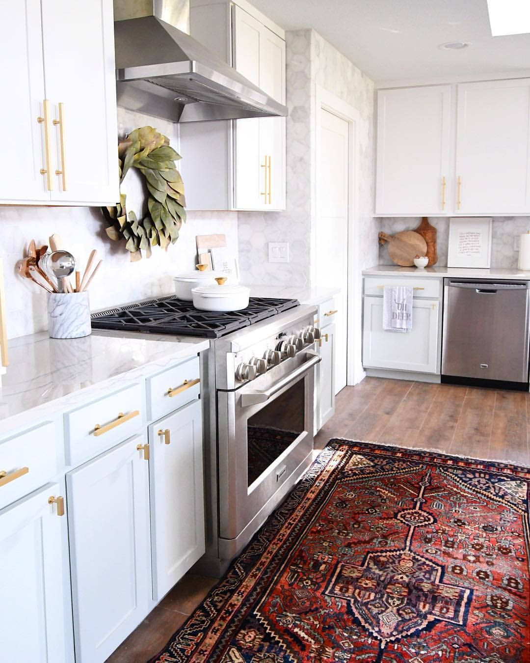 White Kitchen Cabinets Maintenance: Pin By Megan Frisbee On Kitchens In 2019
